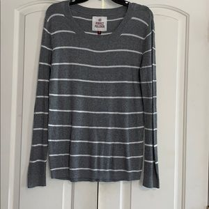 Tops - Striped Long Sleeve Shirt